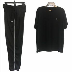 Fila shirt/shorts